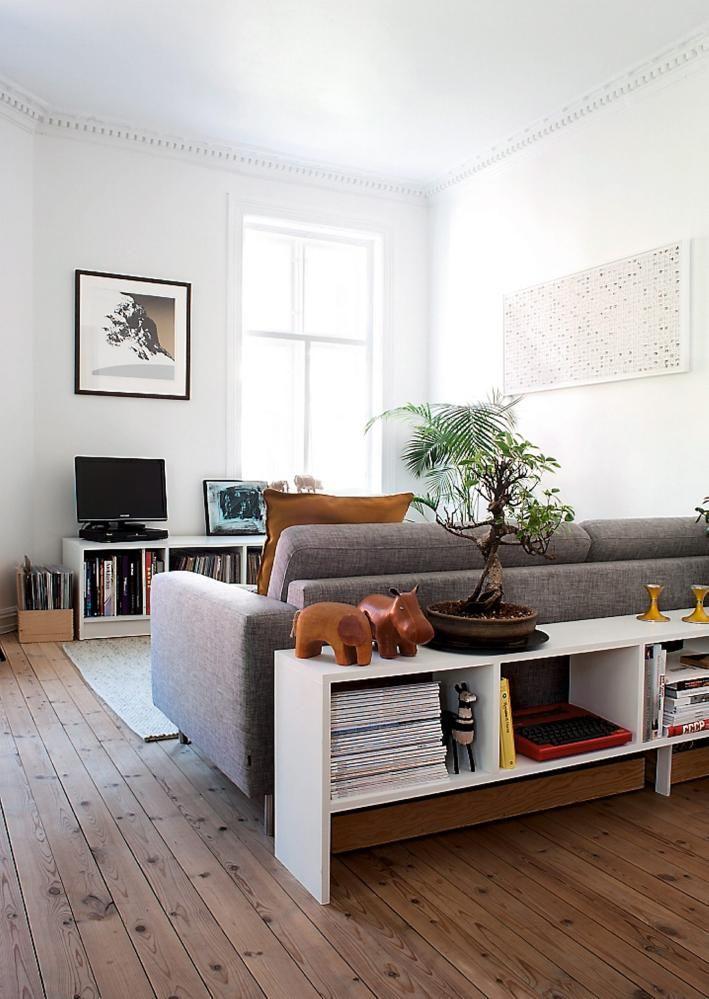 mehr Stauraum und Platz für Dekoration mit einem Konsolentisch