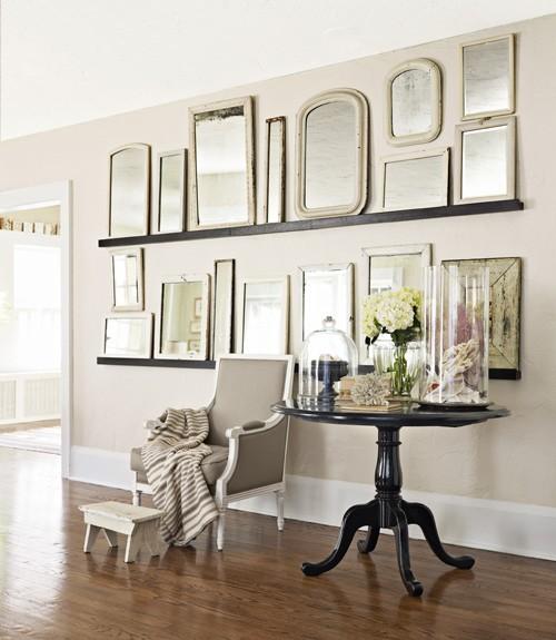 4 SPIEGEL AN DER REIHE Mit Spiegeln Anstelle Von Bildern Zu Dekorieren, Ist  Eine Schöne, Elegante Idee. Sie Verleihen Einem Raum Nicht Nur Eine Gewisse  ...