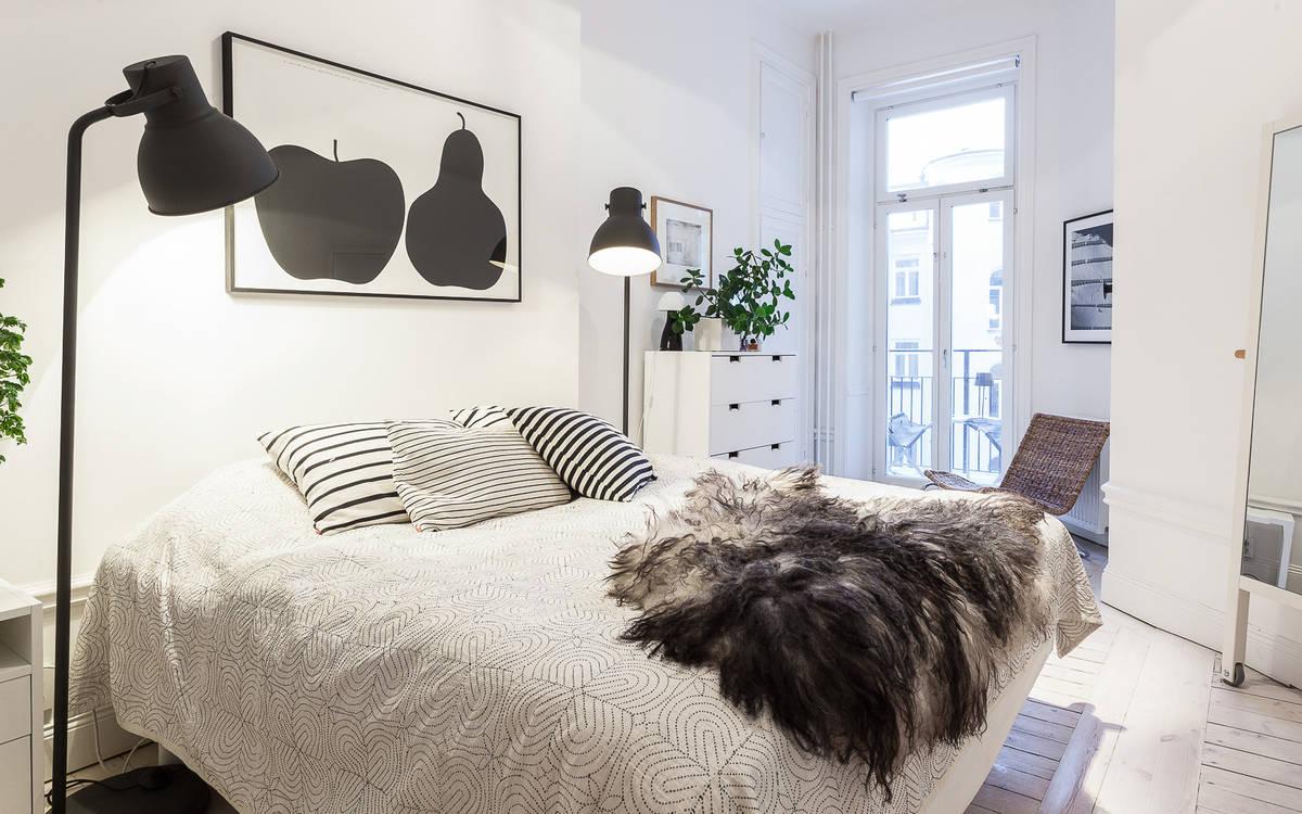 Schlafzimmer fenster gestalten: schmales schlafzimmer. Über ...