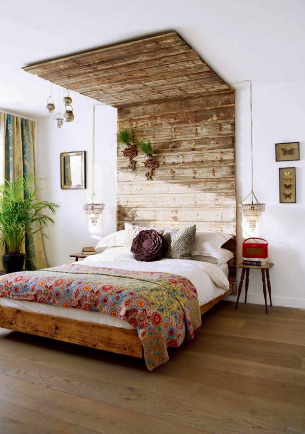 Am Schönsten Sind Natürlich Selbst Gemachte. Hinter Dem Bett Ist Ein Guter  Ort, Um Ein Solches Prachtstück Wirkungsvoll Zu Platzieren.