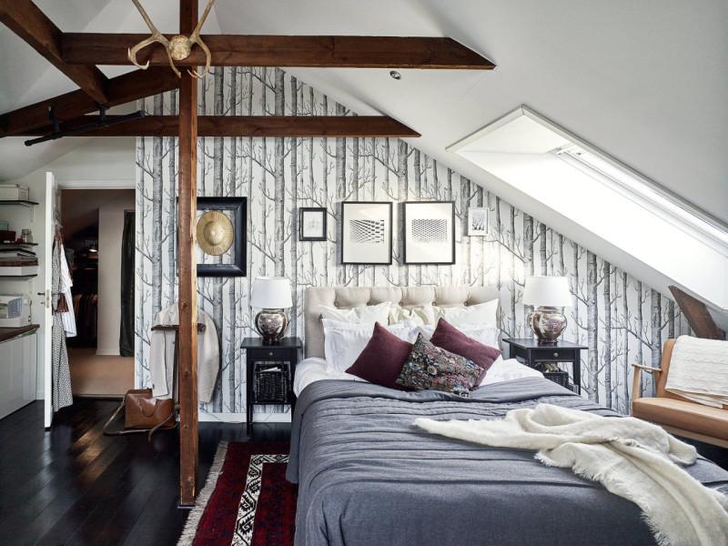 Wohnen unter der Dachschräge | Sweet Home