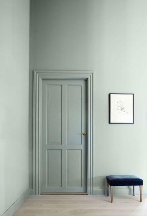 Zu Hause Können Wir Hinter Dem Bett Eine Echte Wand Mit Regal Streichen  Oder Aber Auch Einfach Eine Grosse, Farbige Leinwand Hinstellen.