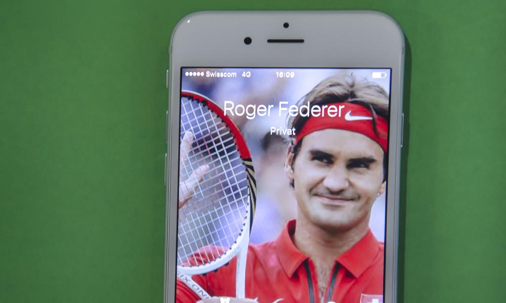 Roger Federer ruft an - für TA-Blog