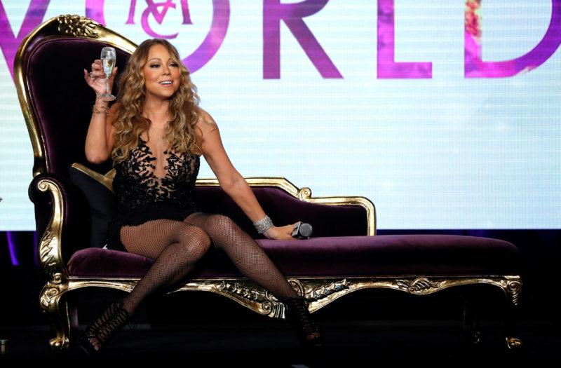 Glauben wir an den Fortschritt! Trotz Mariah Careys Reality-Show. Foto: Mario Anzuoni (Reuters)