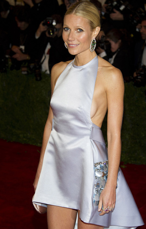 Traumfigur dank Disziplin: Schauspielerin Gwyneth Paltrow. (Reuters/Charles Sykes)