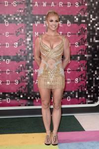 Britney Spears erschlankt bei den MTV Music Awards 2015. (Keystone)