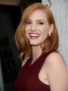 Glänzt mit ihrer Haarpracht: Jessica Chastain. (Keystone)