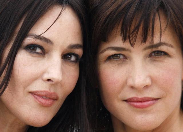 Zeitlose Schönheiten: Monica Bellucci (51) und Sophie Marceau (48). (Reuters)