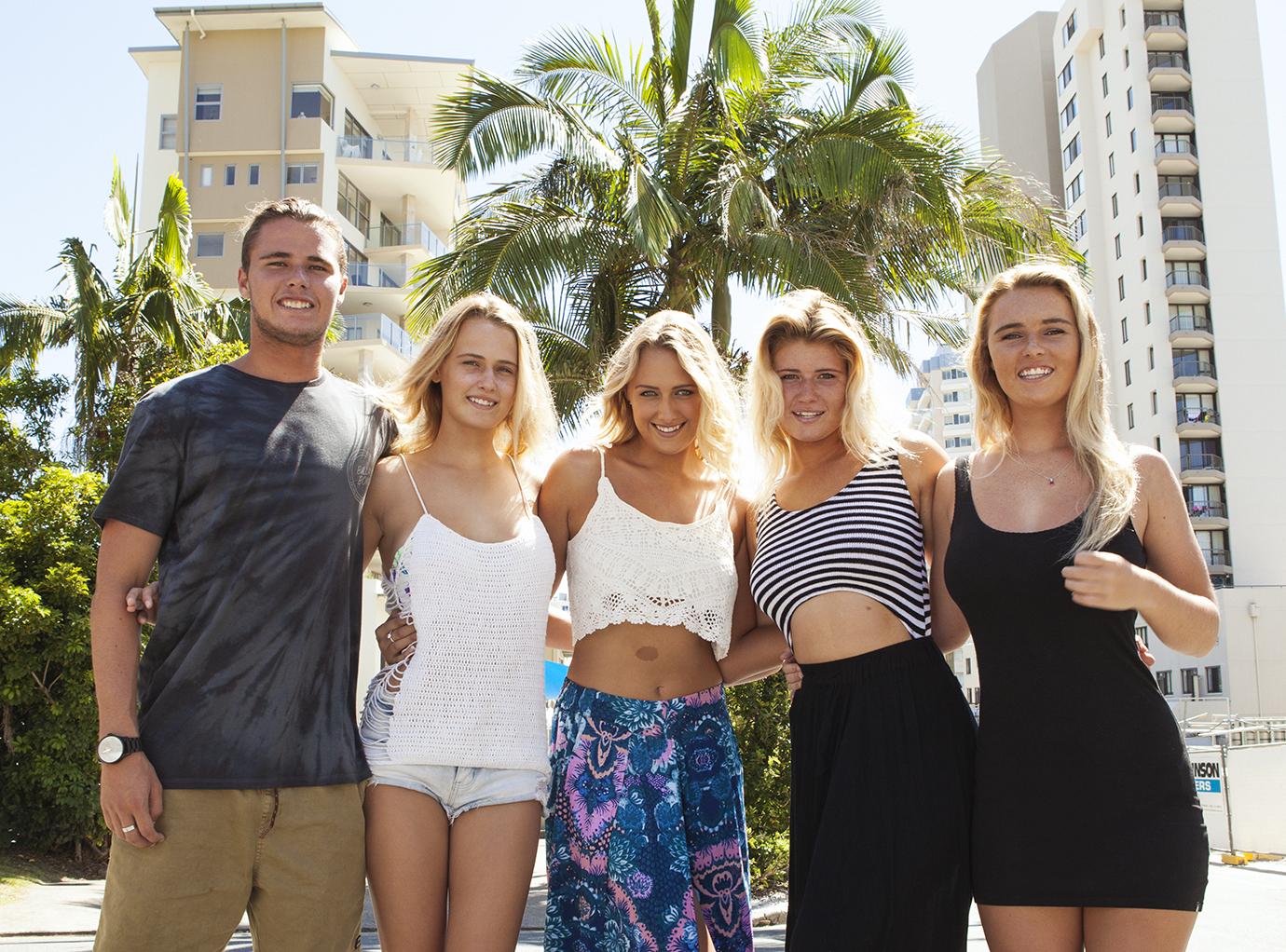 Die Coffey-Family: Fünf Surfer-Geschwister aus Australien: (Bild: The Lens)