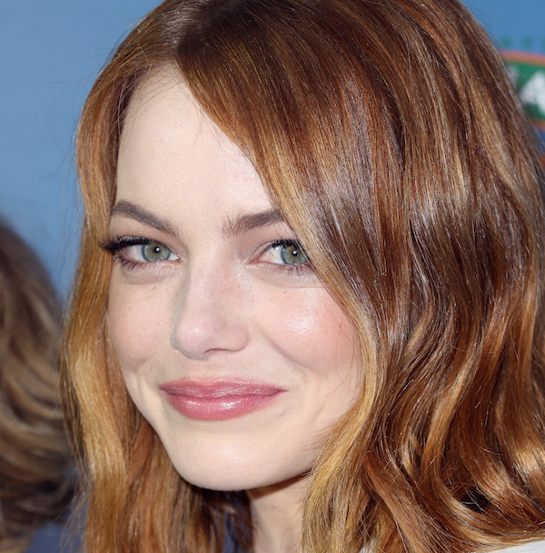 "WEST HOLLYWOOD, CA - MAY 27: Actress Emma Stone attends the special screening of Columbia Pictures' ""ALOHA"" at The London West Hollywood on May 27, 2015 in West Hollywood, California. (Photo by Frederick M. Brown/Getty Images)"