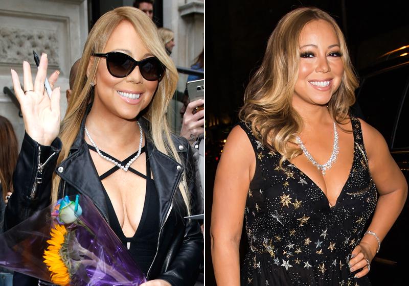 Braucht je nach Stimmung eine Kleidergrösse mehr: Mariah Carey. (Bilder: Getty Images)