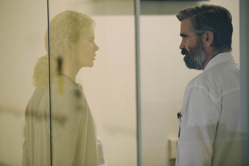 Gefühle prallen an einer gläsernen Wand ab: Nicole Kidman und Colin Farrell in «The Killing of a Sacred Deer». Foto: PD