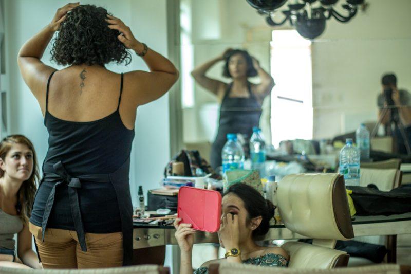 Ob dick oder dünn: Die meisten Frauen sind mit ihrem Körper alles andere als zufrieden. Foto: Maurício Mascaro (Pexels)