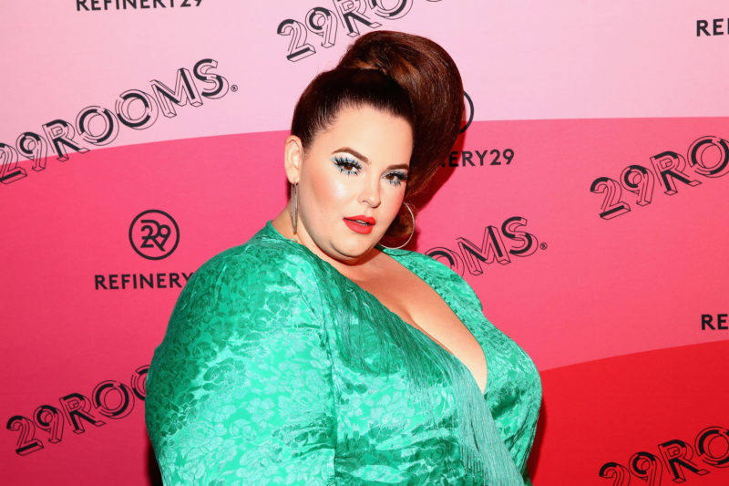 Das Model Tess Holliday weist jegliche Kritik an ihrem Körper vehement zurück. Foto: Astrid Stawiarz (Getty Images)
