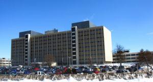 Parkplätze vorhanden: Blick auf den Hauptsitz der National Security Agency. Foto: thisisbossi/Flickr