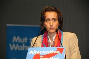 Beatrix von Storch hält Auftritte «dieser Wurst» für Verschwendung. Foto: blu-news.org/Flickr