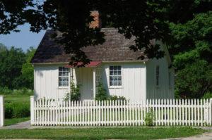 Herbert Hoovers Geburtshaus in West Branch.