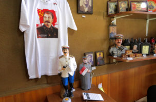 Mitbringsel: Stalin als Souvenir im Museumsshop.