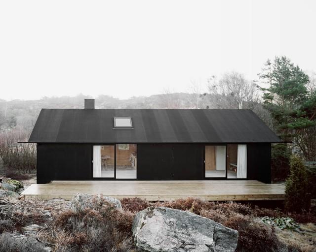 Schlichte Schwarzweiss Architektur Aus Schweden Sweet Home