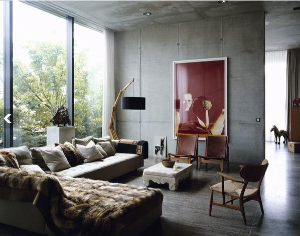 Fußboden Aus Beton Kreuzworträtsel ~ So wirkt beton ganz schön wohnlich sweet home