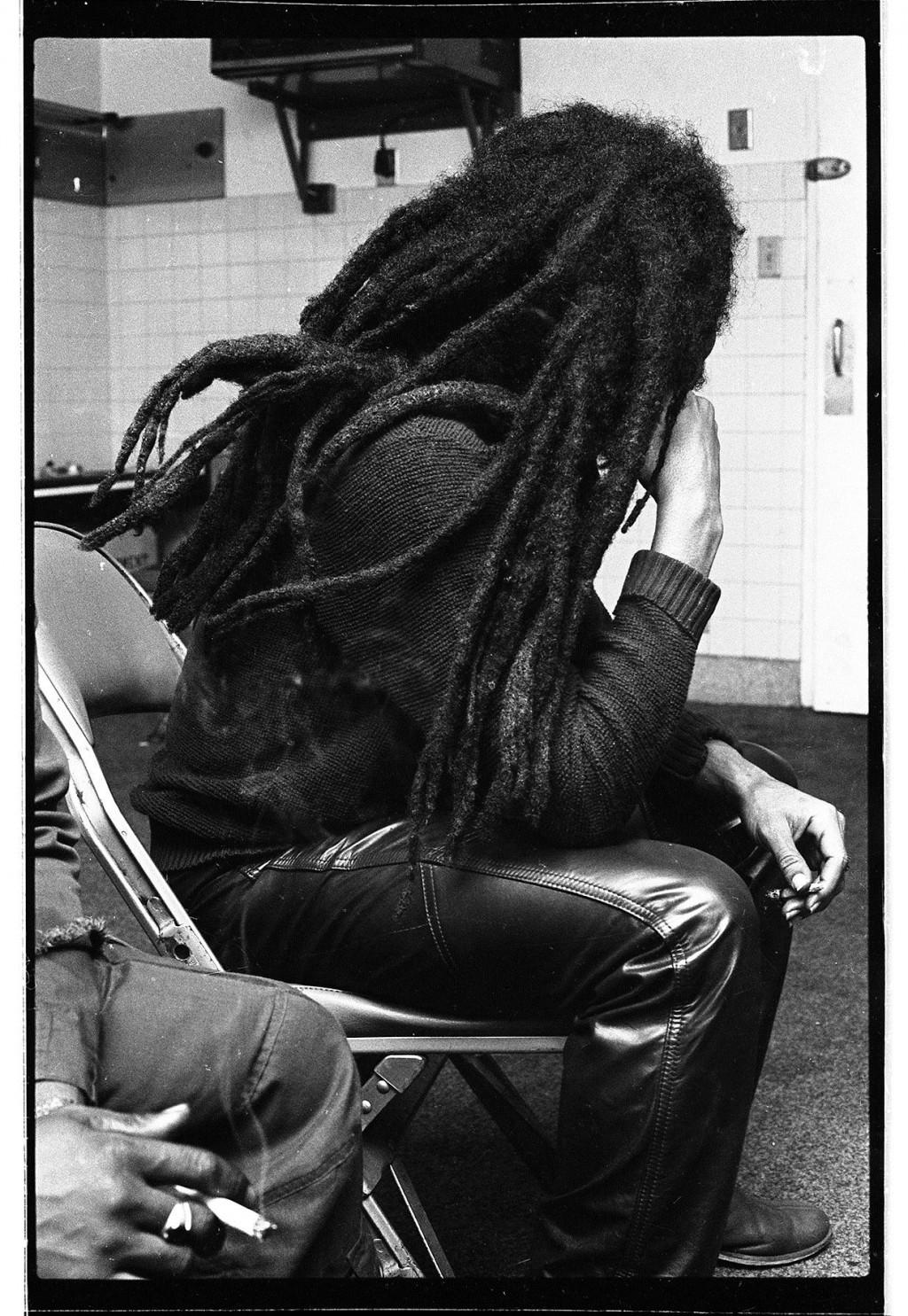 Bob Marley Backstage 1978