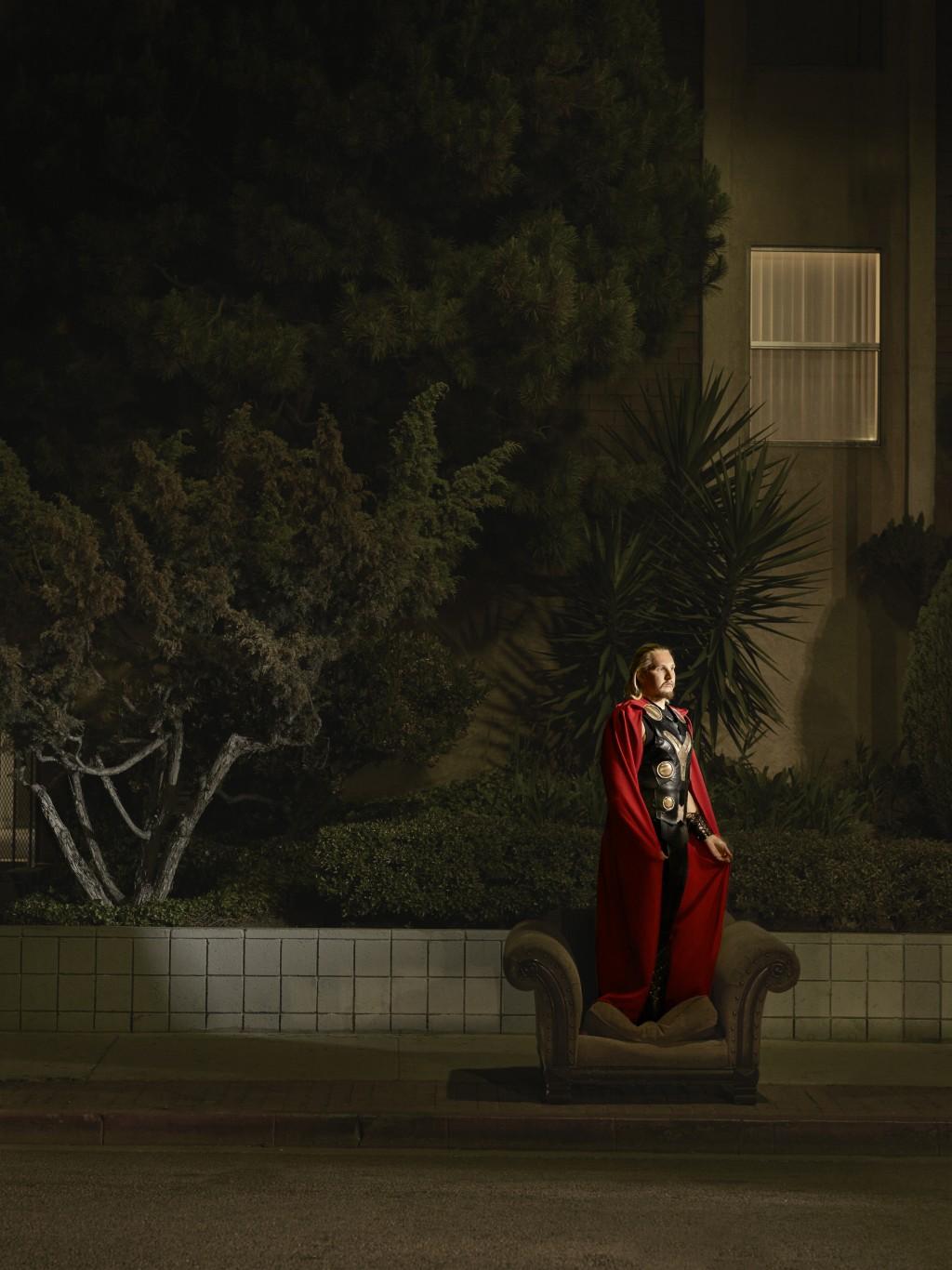 Vasyl als Thor.