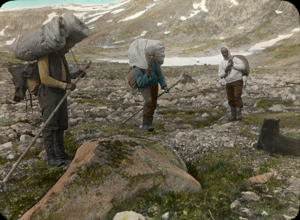 Publiziert in: Quervain, A. de, Haffner, P.: Quer durchs Grönlandeis, 1998, XXI. Alfred de Quervain zugeschrieben