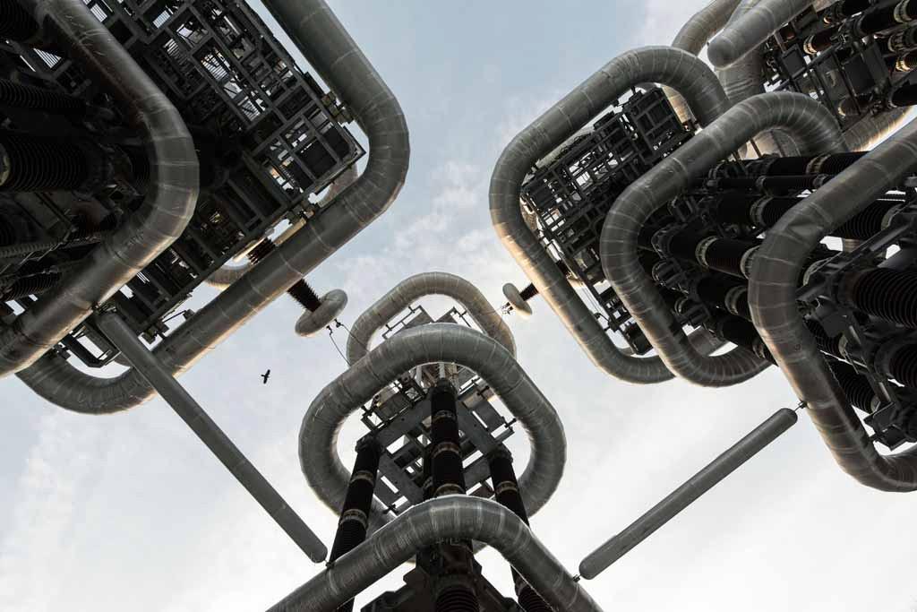 UNDATIERTES HANDOUT - Dieses Bild wurde in einem stillgelegten Versuchskraftwerk in der Naehe von Moskau aufgenommen, das von einem halben Dutzend Hunde streng bewacht wurde. Nach etwas Ueberzeugungsarbeit liess der Waechter uns ein. Da die Sonne bereits unterging, blieben mir nur ein paar Minuten, um den perfekten Blickpunkt zu finden. Ein zufaellig vorueberfliegender Vogel liess die Szene noch poetischer wirken. (PHOTOPRESS/Nikon)
