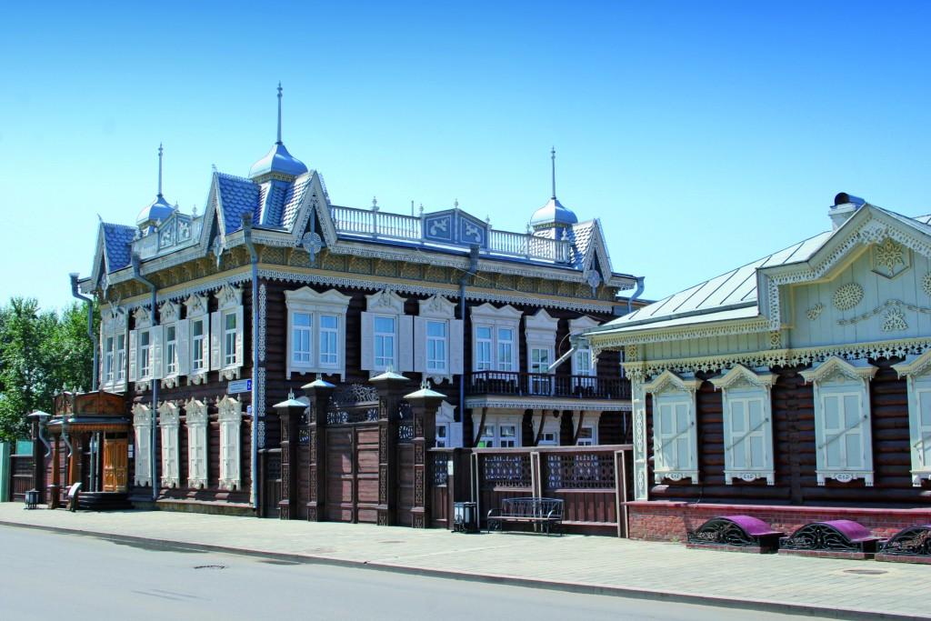 Sibirisches Holzhaus in Irkutsk - Denis Solovjov X