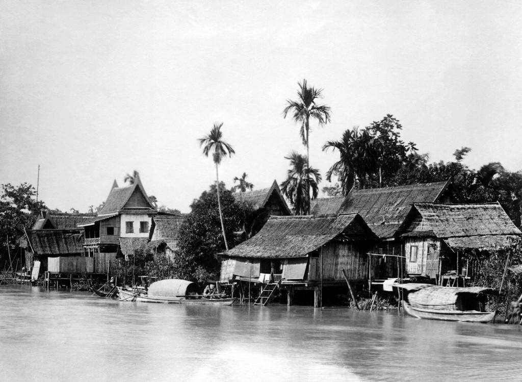 THAILAND - JANUARY 01: A view of Bangkok in Siam around 1935. (Photo by Keystone-France/Gamma-Keystone via Getty Images)