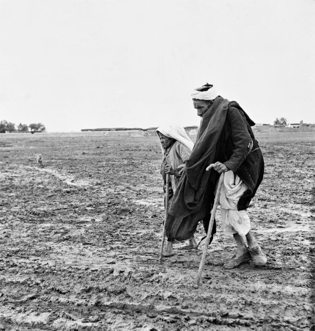 UNRWA Archive - Ausstellung Photobastei - BILDSEITE Exodus. © 1948 UN-Archiv, Fotograf unbekannt