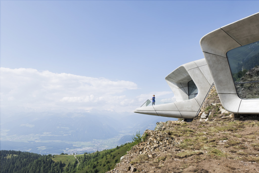 Messner Mo08_ZHA_MMM Corones_Werner Huthmacher_05 untain Museum Corones, South Tyrol, Italy