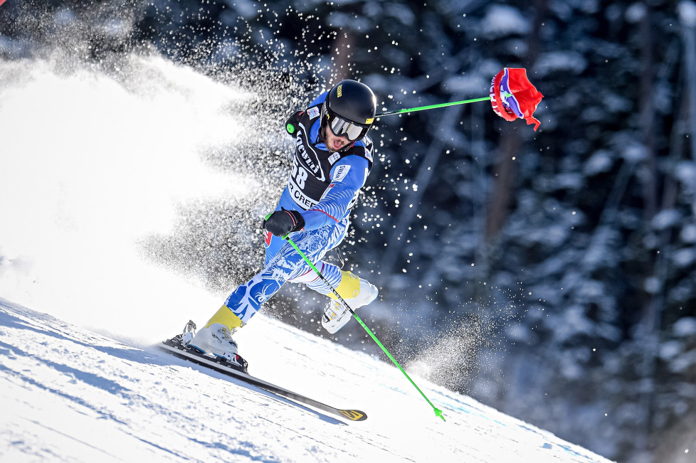 BEAVER CREEK, COLORADO - DECEMBER 06: (FRANCE OUT) Andreas Zampa of Slovakia competes during the Audi FIS Alpine Ski World Cup Menâs Giant Slalom on December 06, 2015 in Beaver Creek, Colorado. (Photo by Alain Grosclaude/Agence Zoom/Getty Images)