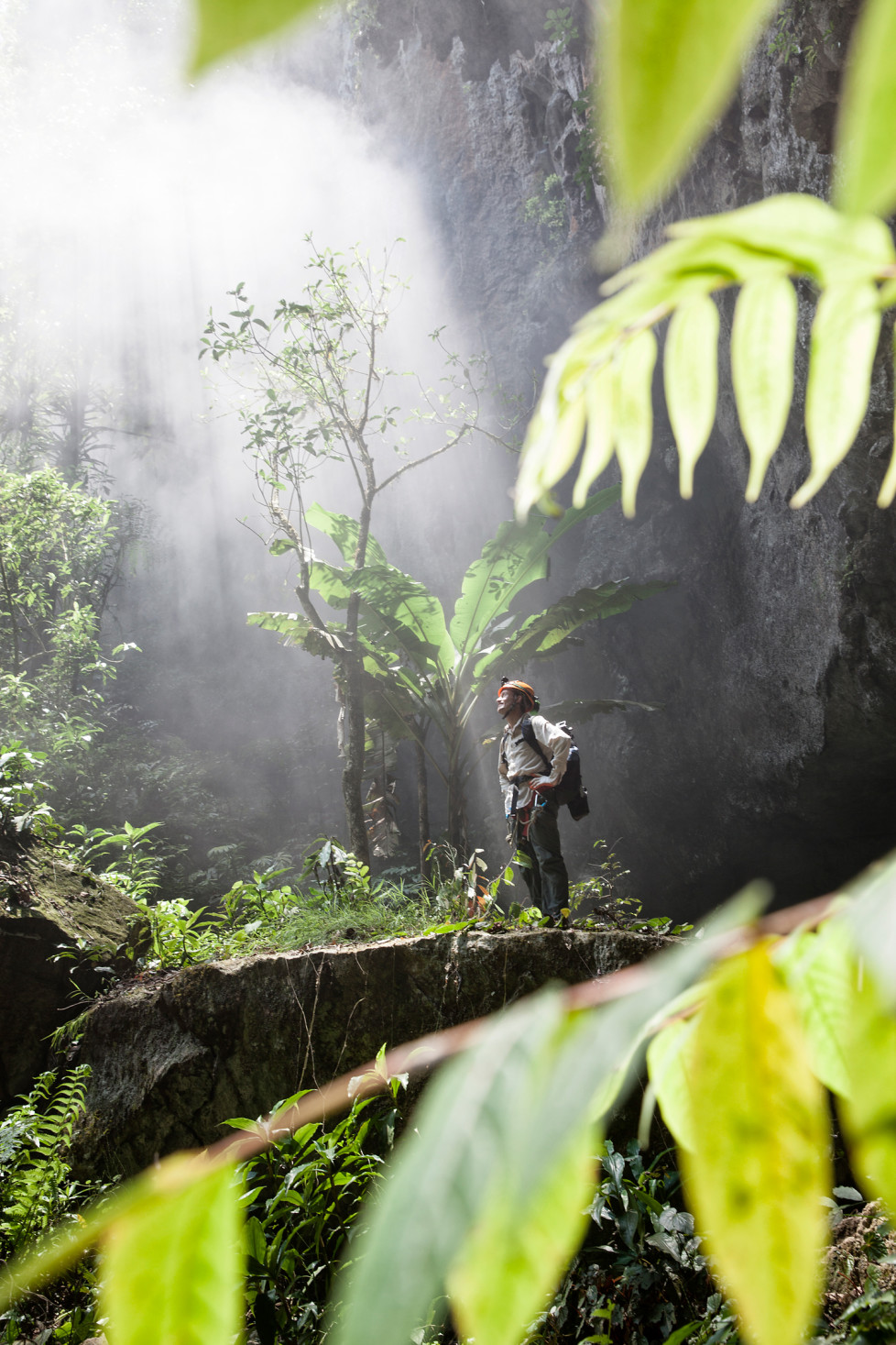 Cloud forms at the entrance to Son Doong Cave. Foto: Tanja Demarmels