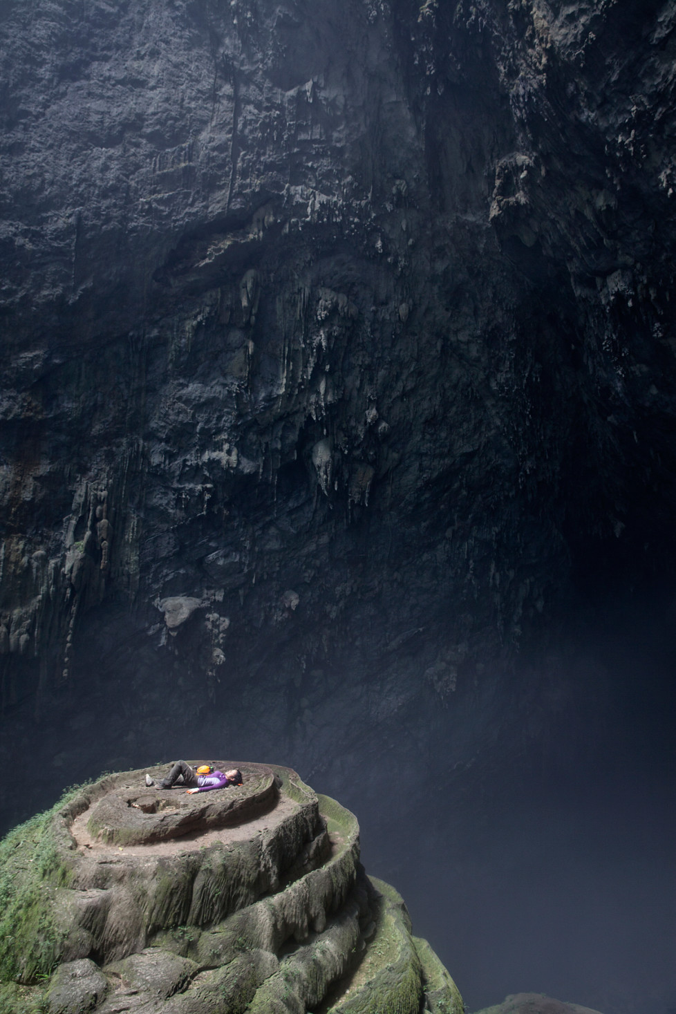 First Donlie in Son Doong Cave. Foto: Tanja Demarmels