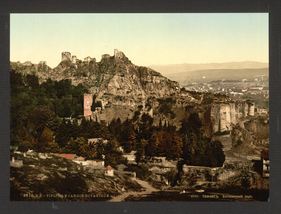Botanical gardens, Tiflis, Russia, (i.e., Tbilisi, Georgia) between 1890 - 1900 (c) Library of Congress