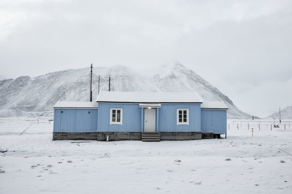 """The old radio station for the mining town which is now a telegraph museum in Ny-Alesund Svalbard, Norway, October 13, 2015. A Norwegian chain of islands just 1,200 km (750 miles) from the North Pole is trying to promote new technologies, tourism and scientific research in a shift from high-polluting coal mining that has been a backbone of the remote economy for decades. Norway suspended most coal mining on the Svalbard archipelago last year because of the high costs, and is looking for alternative jobs for about 2,200 inhabitants on islands where polar bears roam. Part of the answer may be to boost science: in Ny-Alesund, the world's most northerly permanent non-military settlement, scientists from 11 nations including Norway, Germany, France, Britain, India and South Korea study issues such as climate change. The presence of Norway, a NATO member, also gives the alliance a strategic foothold in the far north, of increasing importance after neighbouring Russia annexed Ukraine's Crimea region in 2014. REUTERS/Anna FilipovaPICTURE 06 OF 19 - SEARCH """"SVALBARD FILIPOVA"""" FOR ALL IMAGES"""