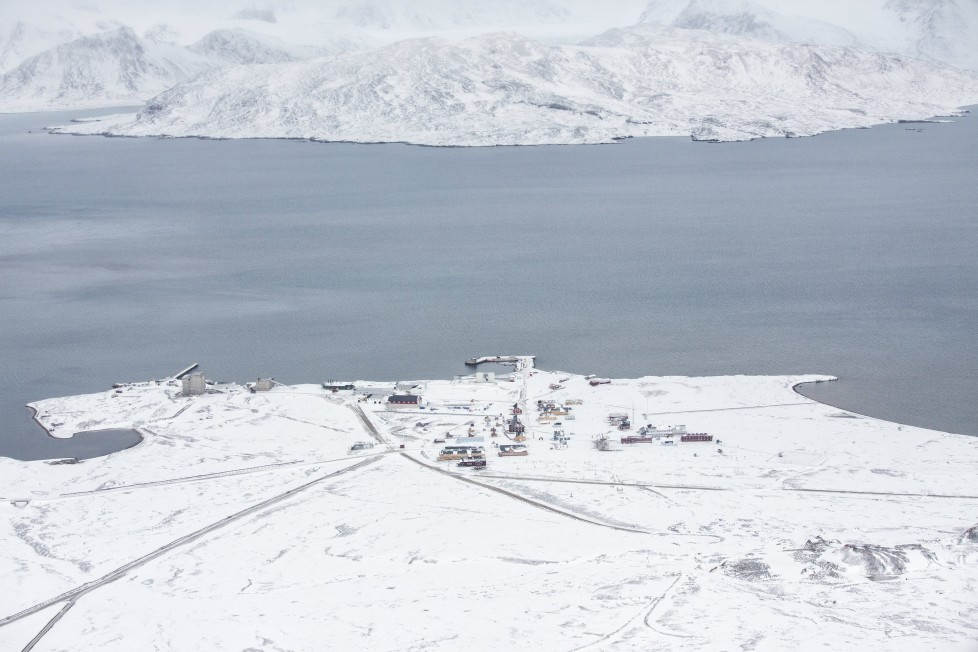 """Breinosa is seen from the research Zeppelin Observatory that is operated by operated by the Norwegian Polar Institute and Norwegian Institute for Air Research in Svalbard in Norway October 17, 2015. A Norwegian chain of islands just 1,200 km (750 miles) from the North Pole is trying to promote new technologies, tourism and scientific research in a shift from high-polluting coal mining that has been a backbone of the remote economy for decades. Norway suspended most coal mining on the Svalbard archipelago last year because of the high costs, and is looking for alternative jobs for about 2,200 inhabitants on islands where polar bears roam. Part of the answer may be to boost science: in Ny-Alesund, the world's most northerly permanent non-military settlement, scientists from 11 nations including Norway, Germany, France, Britain, India and South Korea study issues such as climate change. The presence of Norway, a NATO member, also gives the alliance a strategic foothold in the far north, of increasing importance after neighbouring Russia annexed Ukraine's Crimea region in 2014. REUTERS/Anna Filipova TPX IMAGES OF THE DAYPICTURE 01 OF 19 - SEARCH """"SVALBARD FILIPOVA"""" FOR ALL IMAGES"""