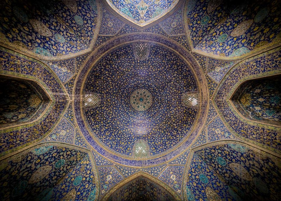 Ceiling of Shah(Emam) mosque