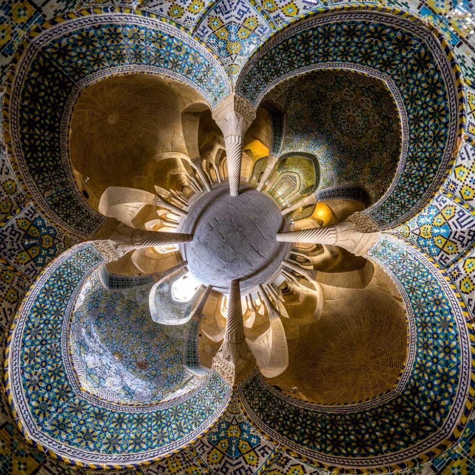 Vakil mosque(little planet version)