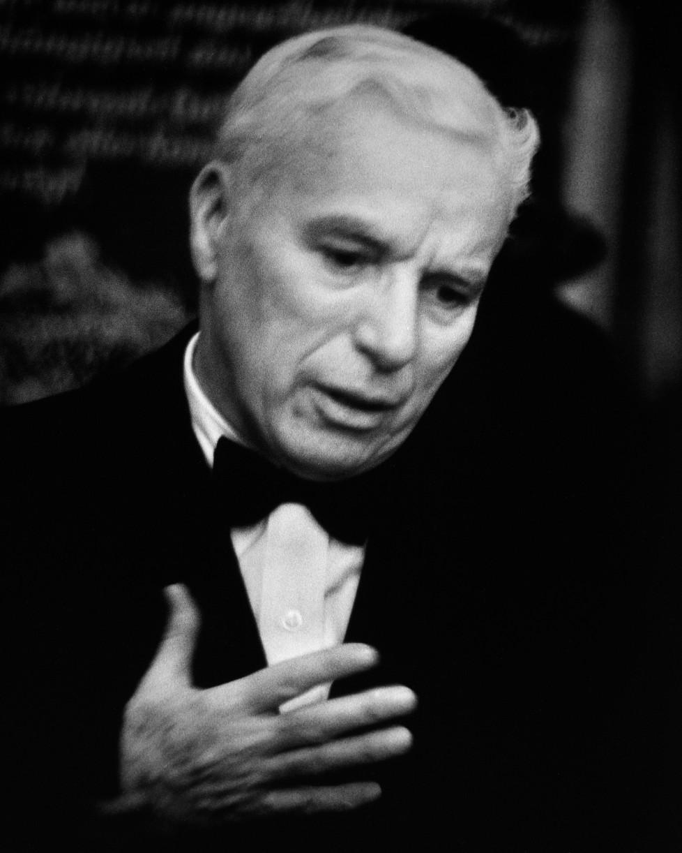 René Groebli, Charles Chaplin (Nr. 606), 1952