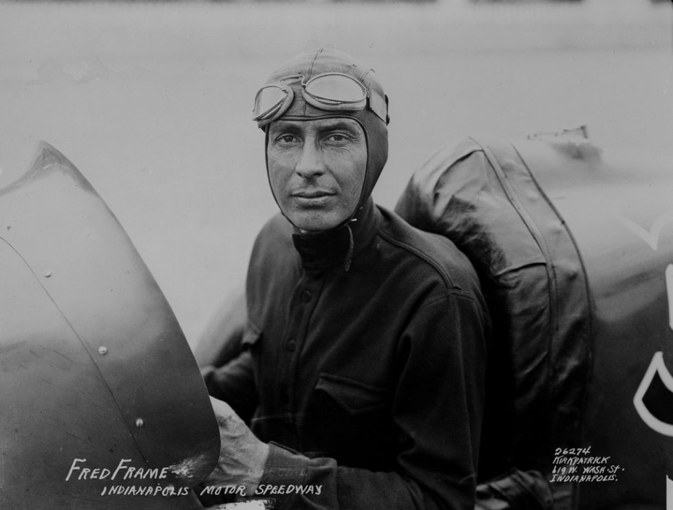 Freddy Frame of Los Angeles, Calif., is shown seated in his race car after winning the Indianapolis 500 international automobile race on the Indianapolis Motor Speedway on Memorial Day, May 30, 1932. Frame finished about a minute ahead of Howdy Wilcox of Indianapolis. (AP Photo)
