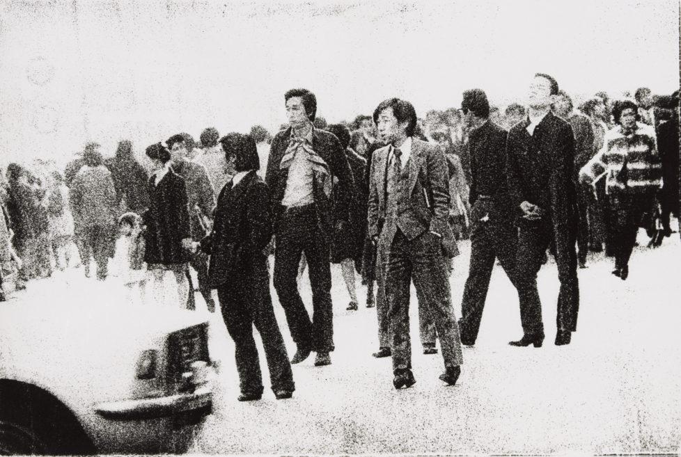 ** Provoke - Zwischen Protest und Performance Fotografie in Japan 1960 - 1975 ** Fotosmuseum Winterthur 28.5 - 28.8.2016 Nobuyoshi Araki, Ohne Titel, 1973 (c) Nobuyoshi Araki / The Art Institute of Chicago