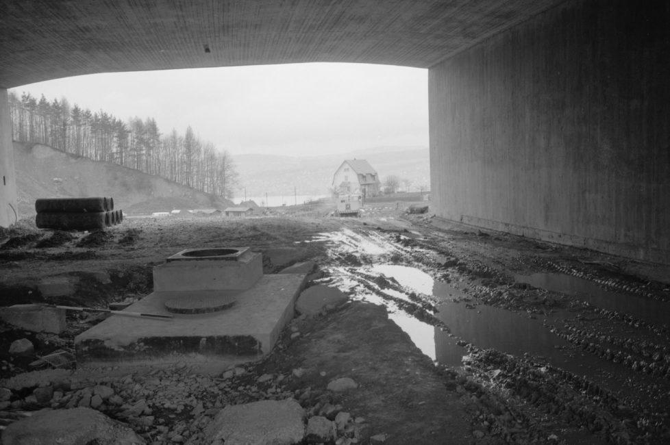 Autobahnbau N3 zwischen Zürich und Pfäffikon