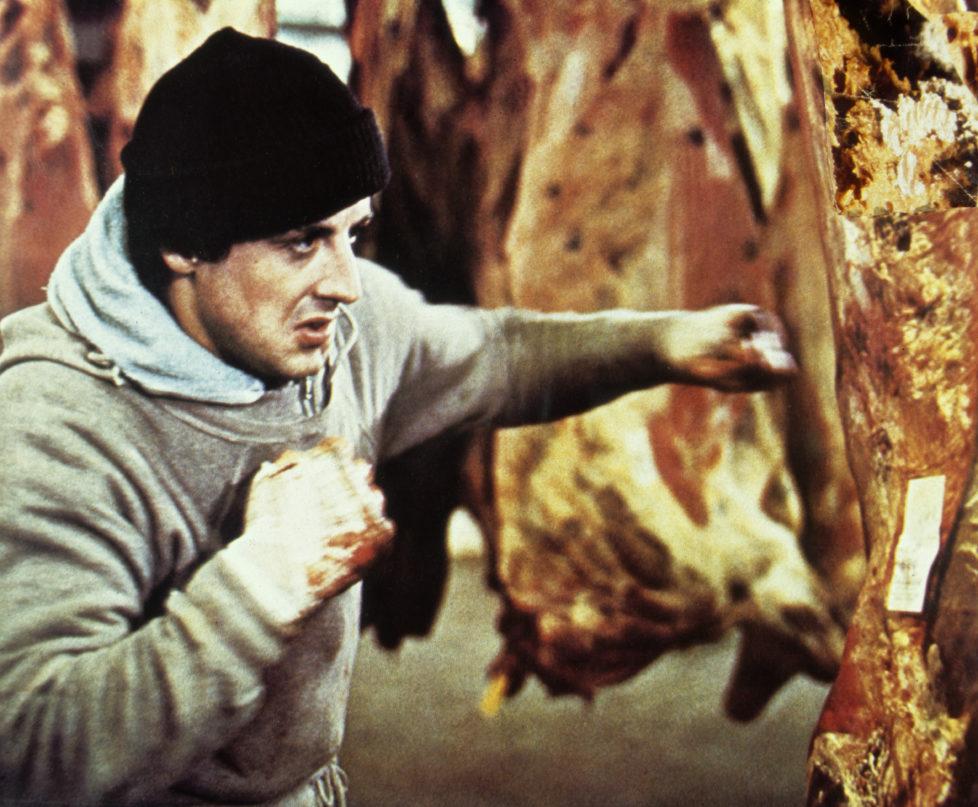 (GERMANY OUT) Stallone, Sylvester *06.07.1946- Schauspieler, Regisseur, USA - Szene aus dem Spielfilm 'Rocky', USA - 1976 (Photo by R?hnert/ullstein bild via Getty Images) *** Local Caption *** 00366796
