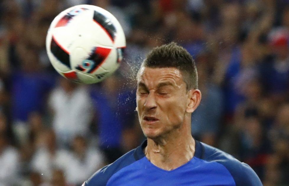 Football Soccer - Germany v France - EURO 2016 - Semi Final - Stade Velodrome, Marseille, France - 7/7/16 France's Laurent Koscielny REUTERS/Christian Hartmann Livepic