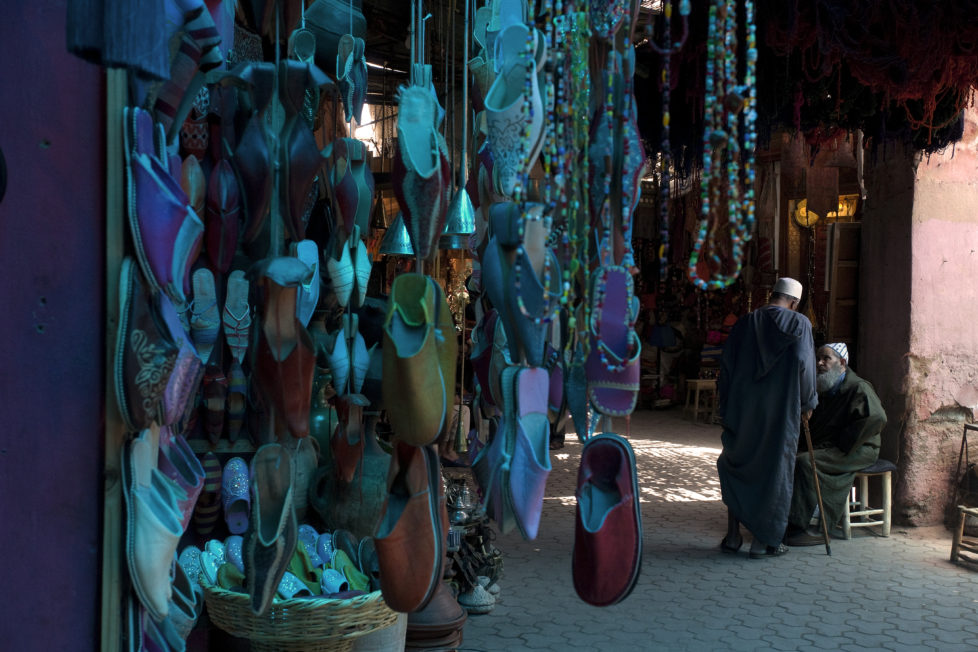 [UNVERIFIED CONTENT] chatting in the souk, Marrakech