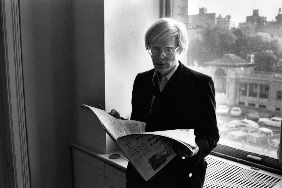 ** Bildseite 06.12.2016 ** Andy Warhol (1928–1987), Factory Union Square, New York, 1974