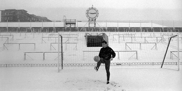 Wintertraining im Highbury-Stadion