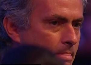 Mourinho cries